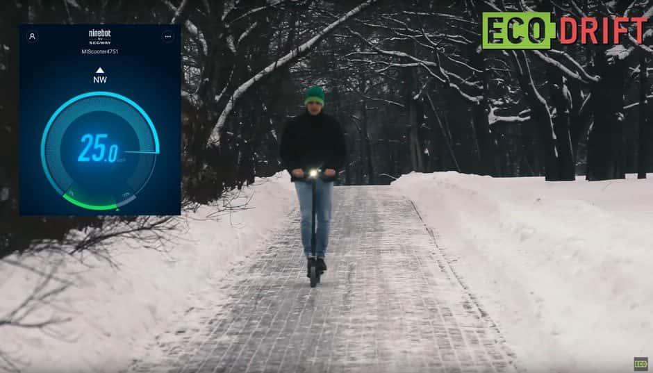 Xiaomi_MiJia_Electric_Scooter_Тест скорсти