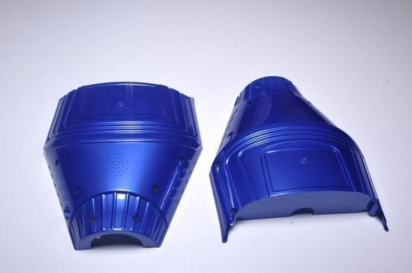 Корпус гироскутера Flash Blue (низ)