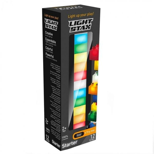 Конструктор Light Stax Duplo Стартовый комплект (12 деталей) М03001