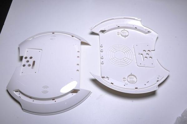 Корпус моноколеса KingSong KS14D White (боковая накладка - 2шт)