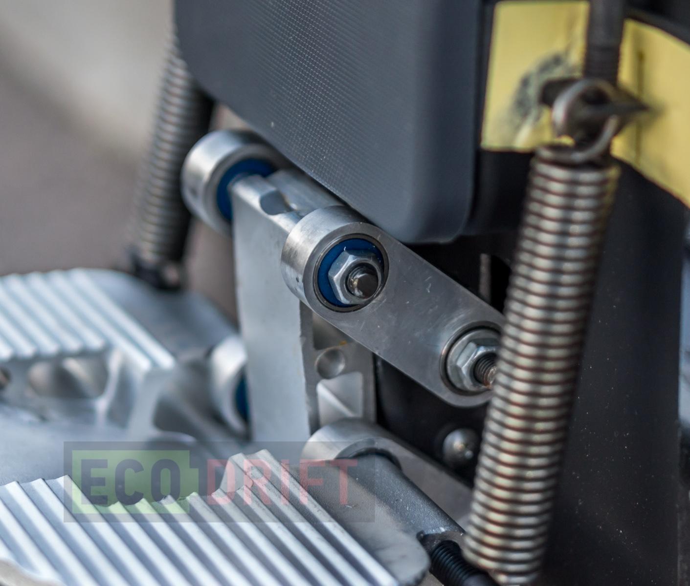 Обзор моноколеса Gotway MCM3 с амортизаторами. Кровать на пружинах