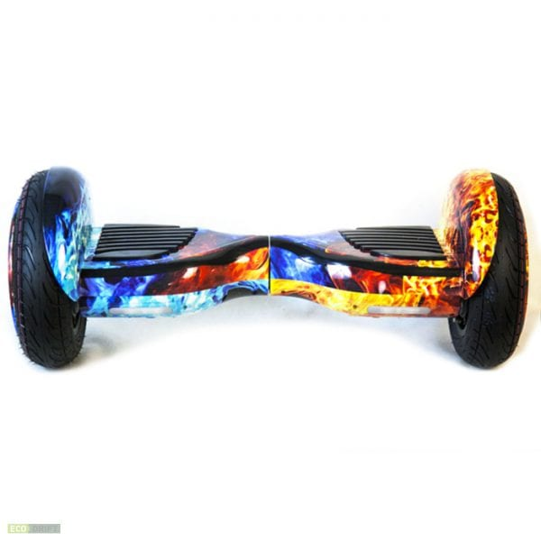 Гироскутер Smart Balance 10,5'' New + APP+ Auto + LED RedBlue Fire 1732