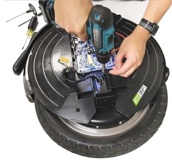 Предпродажная подготовка моноколеса ecodrift