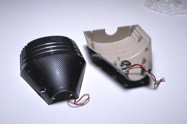 Корпус гироскутера Flash Carbon (низ)