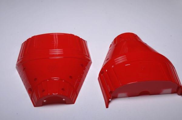 Корпус гироскутера Flash Red (низ)
