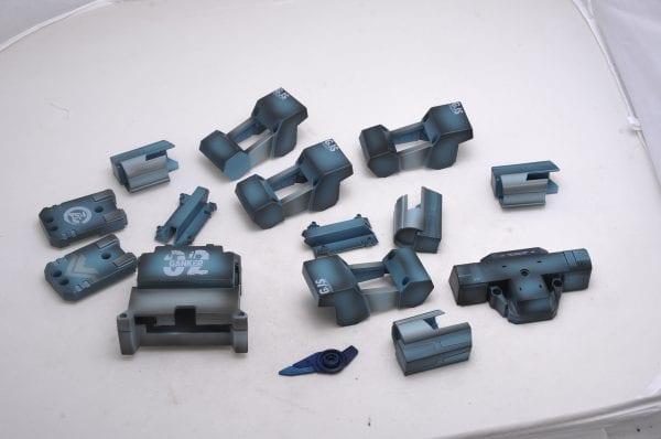 Броня боевого робота Ganker (синяя)