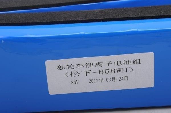 Аккумулятор моноколеса RockWheel GT16 858 Wh