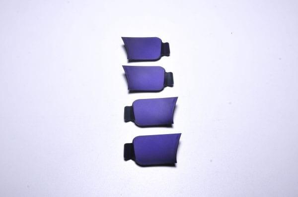 Заглушка на корпус моноколеса GotWay Monster (комплект - 4 шт) purple