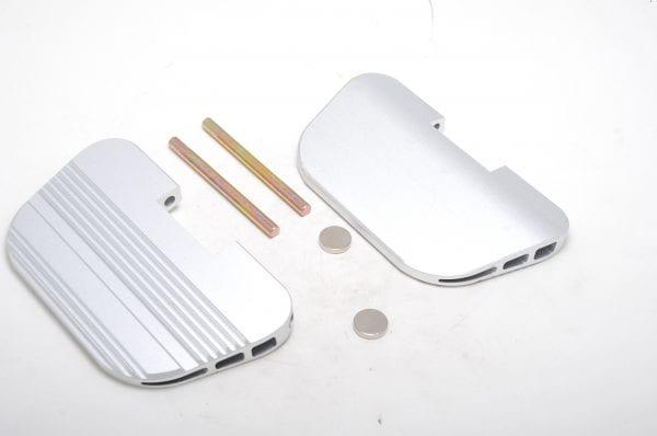 Педали моноколеса GotWay Luffy (комплект - 2 педали, штырь, 4 втулки, 2 магнита)