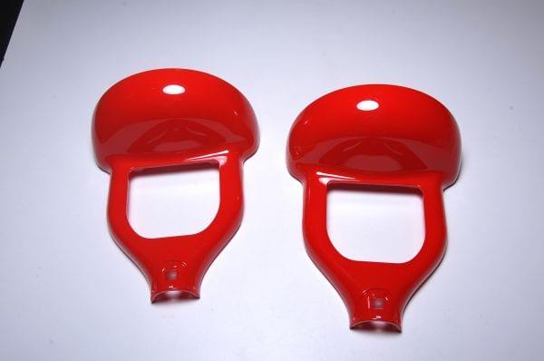 Корпус гироскутера 10 Fire Red (верх)