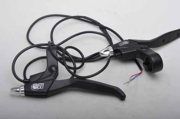 Рычаг тормоза электросамоката Dualtron (комплект - левый и правый)
