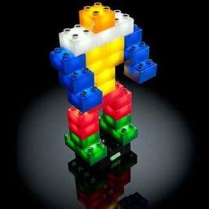 Конструктор Light Stax Duplo Комплект продвинутый (36 детали) М05001