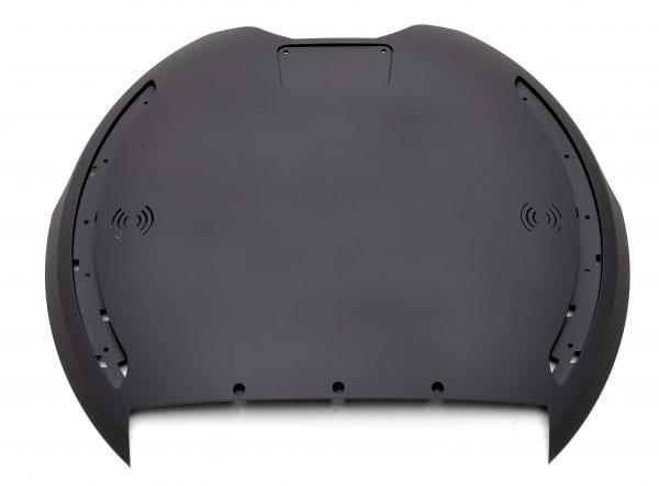 Корпус моноколеса KingSong 18L, 18XL Rubber Black (боковая накладка - 2шт)