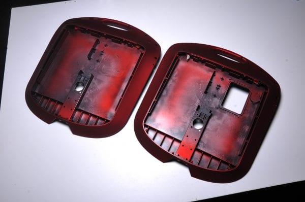 Корпус моноколеса GotWay Monster (комплект - 2 части)  red