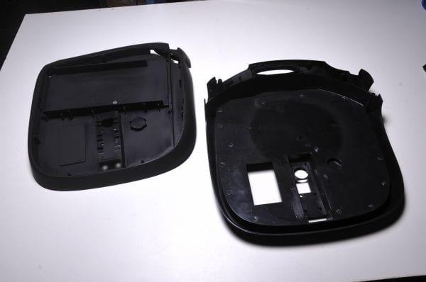 Корпус моноколеса GotWay MSuper 680, 820 (комплект - 2 части)  black matt