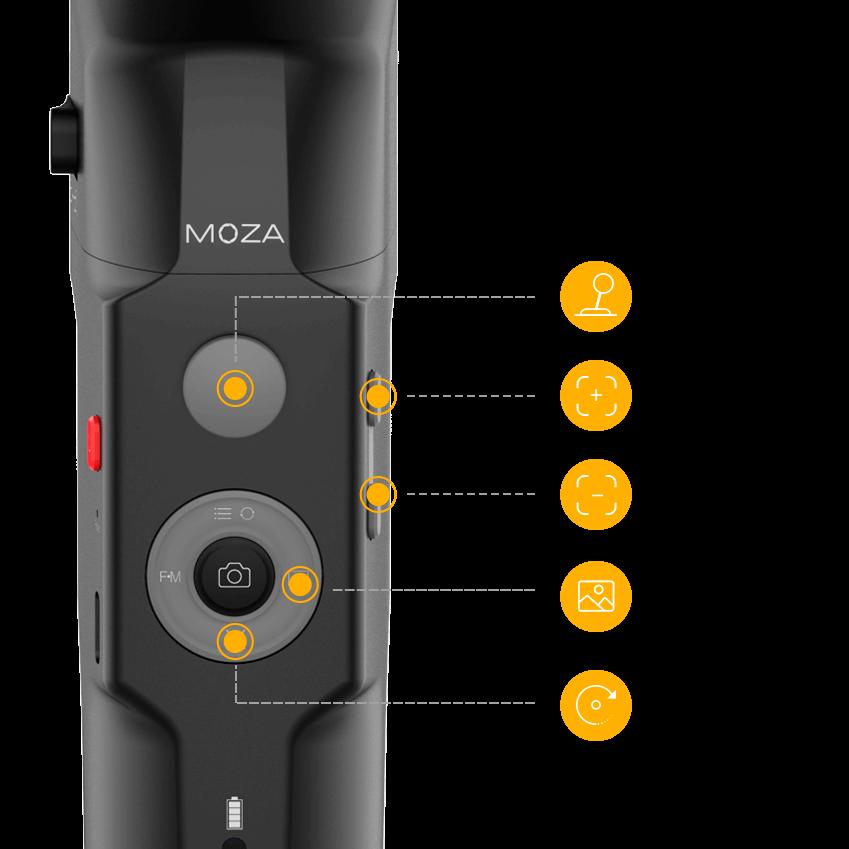 Электронный стедикам Moza Mini-S