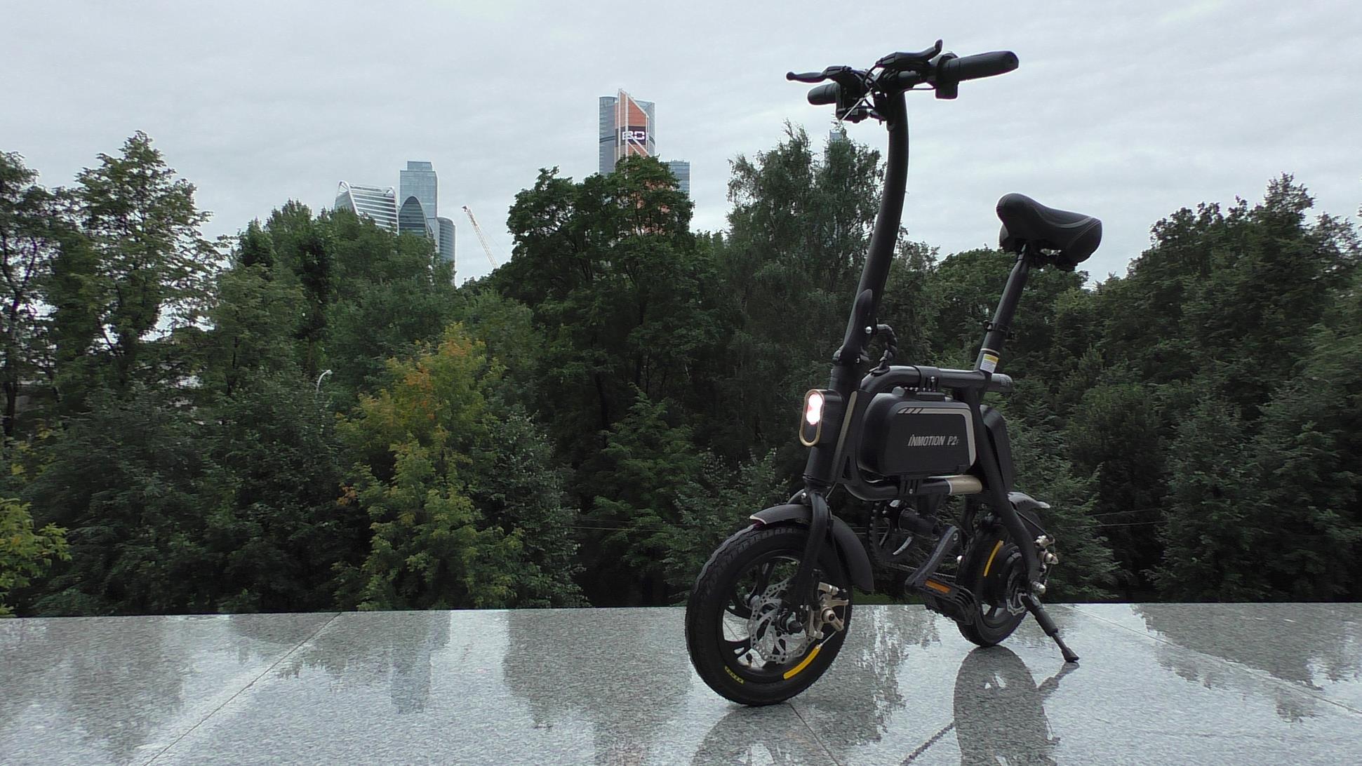 Электровелосипед Inmotion P2F