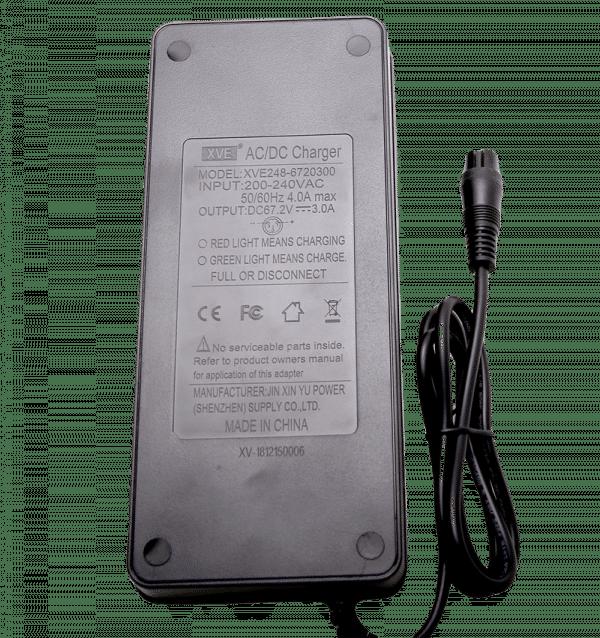 Зарядное устройство моноколеса KingSong 14M, 14D, 14DS, 16S, 18S (67,2V 3A)