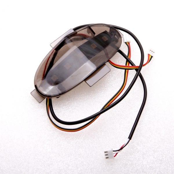 Задняя панель моноколеса GotWay MSuperX (в сборе с LED-лентой)