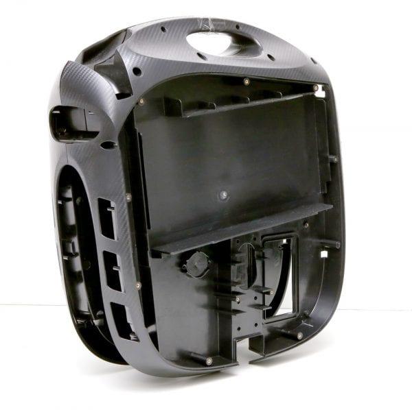 Корпус моноколеса GotWay MSuper PRO HT, PRO HS, X 84V, X100V (внутренняя часть, кт - 2 части)  Black