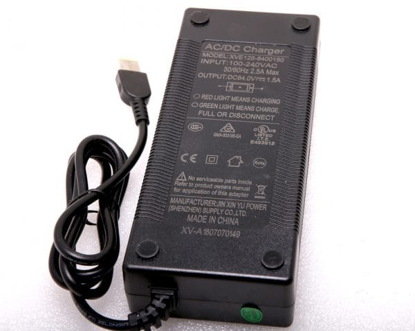 Зарядное устройство моноколеса KingSong 18L, 18XL, 16X, S18 (84V 2,5A)