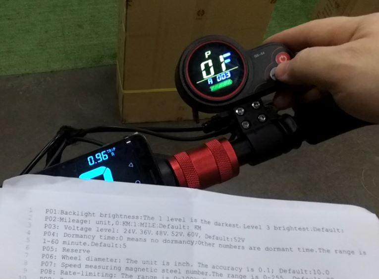 Электросамокат Starway Z9 48V. Проверка скорости. Настройка бортового компьютера.