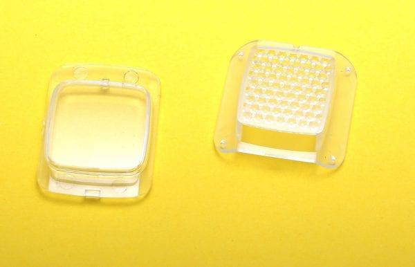 Дефлекторы (стекла) для фар моноколеса Inmotion V10 (комплект: передний и задний)