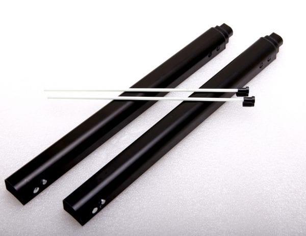 Направляющие для ручки моноколеса KingSong KS14, KS16, KS16S V2 - Black (2 шт)