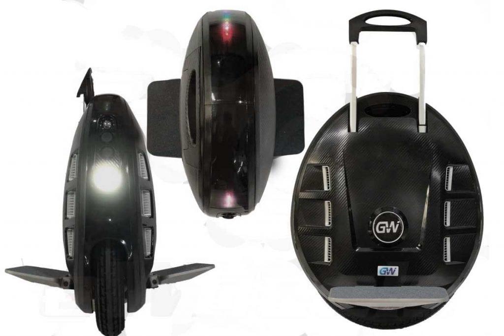 Моноколесо GotWay MCM5 160Wh 67.2V Black