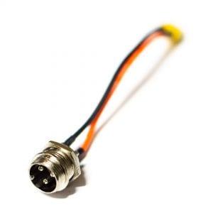 Порт зарядки электросамоката Starway XLR12-3Pin = XT30-2Pin