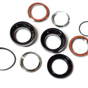 Рулевая колонка (подшипники+резинки) электросамоката Starway Z8/Z9