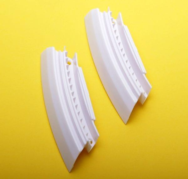 Защитная крышка ниппеля моноколеса GotWay Nikola (комплект - 2 части) white