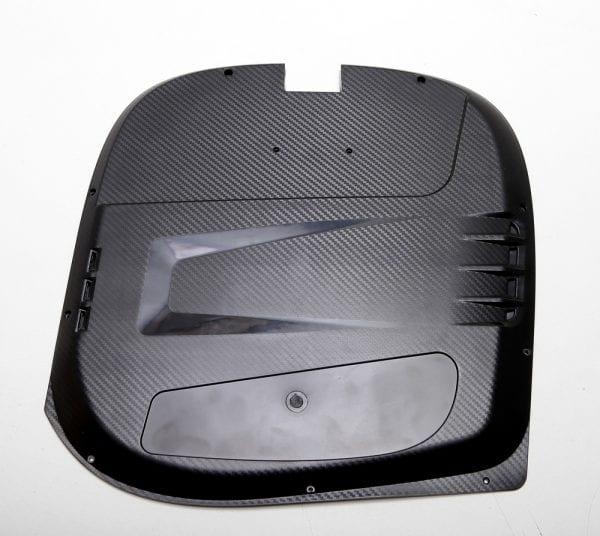 Накладка на корпус моноколеса GotWay MSuper X (комплект - 2 части) Black