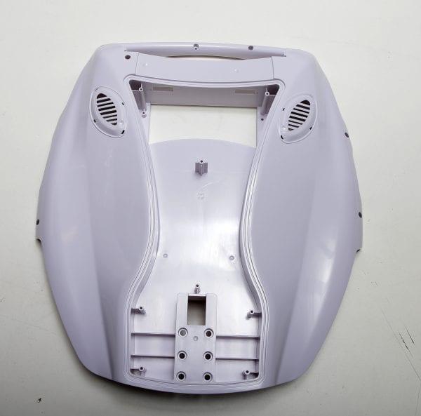 Корпус моноколеса KingSong 18A/18S  White - в сборе (комплект - левая и правая и боковые накладки)