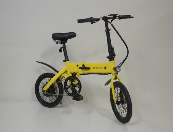 Электровелосипед Electrosport T2 Yellow White 250W 36V 5,2Ah