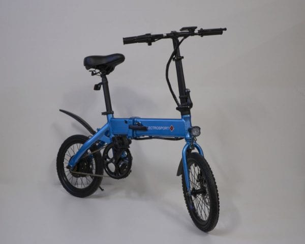 Электровелосипед Electrosport T4 Blue 250W 36V 7,8Ah