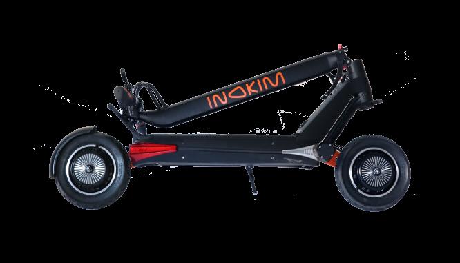 Электросамокат Inokim OX/O 60V 25.6Ah LG Black