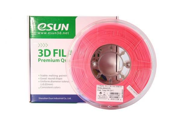 PLA+ пластик eSun, 1.75 мм, pink, 1 кг