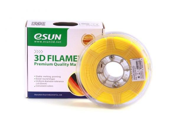 PLA+ пластик eSun, 1.75 мм, yellow, 1 кг