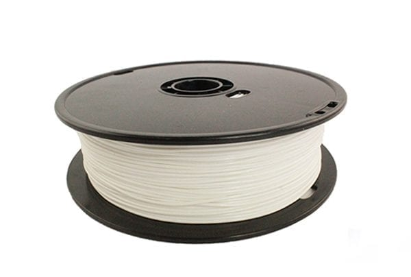 PLA пластик Wanhao, 1.75 мм, white, 1 кг