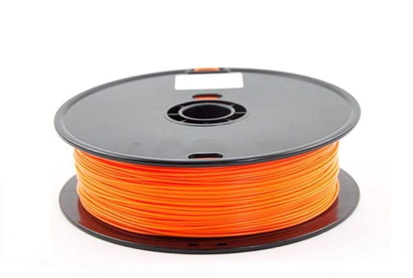 PLA пластик Wanhao, 1.75 мм, orange, 1 кг