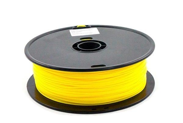 PLA пластик Wanhao, 1.75 мм, yellow, 1 кг