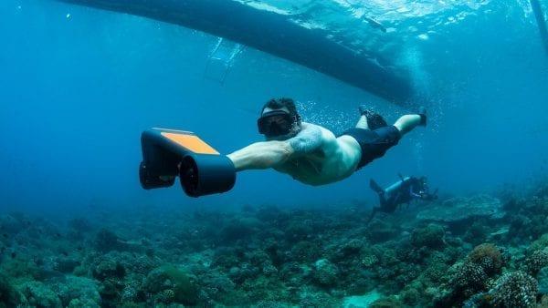 Электрический подводный скутер Geneinno Trident S1 Orange