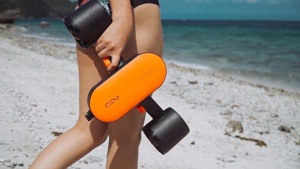 Электрический подводный скутер Geneinno S2 Orange