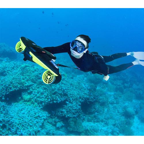Электрический подводный скутер Sublue Navbow (SeaBow) 158Wh Active Green