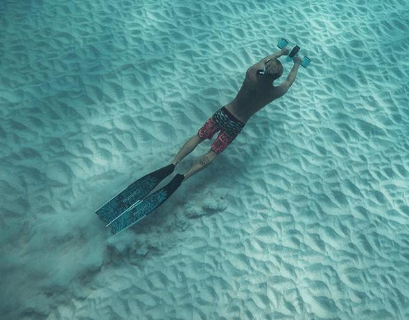 Электрический подводный скутер Sublue Mix Pro 120Wh Black