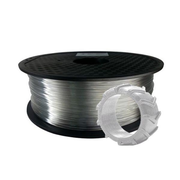 TPU пластик Wanhao, 1.75 мм, transparent, 0.5 кг