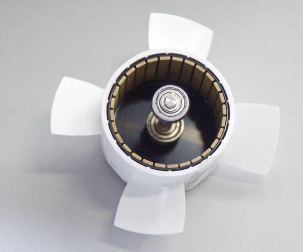 Ротор в сборе с гребным винтом подводного скутера - Mix - White