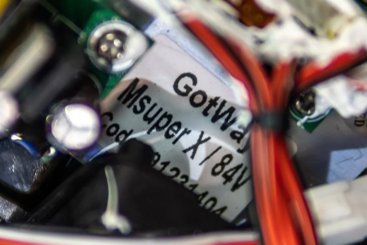 Gotway MSX уже с новым контроллером.
