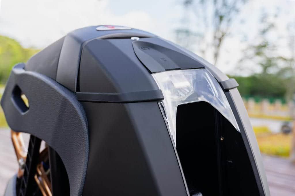 Моноколесо KingSong S18 1110Wh Rubber Black подвеска